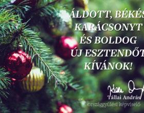 Karácsonyi üdvözlő